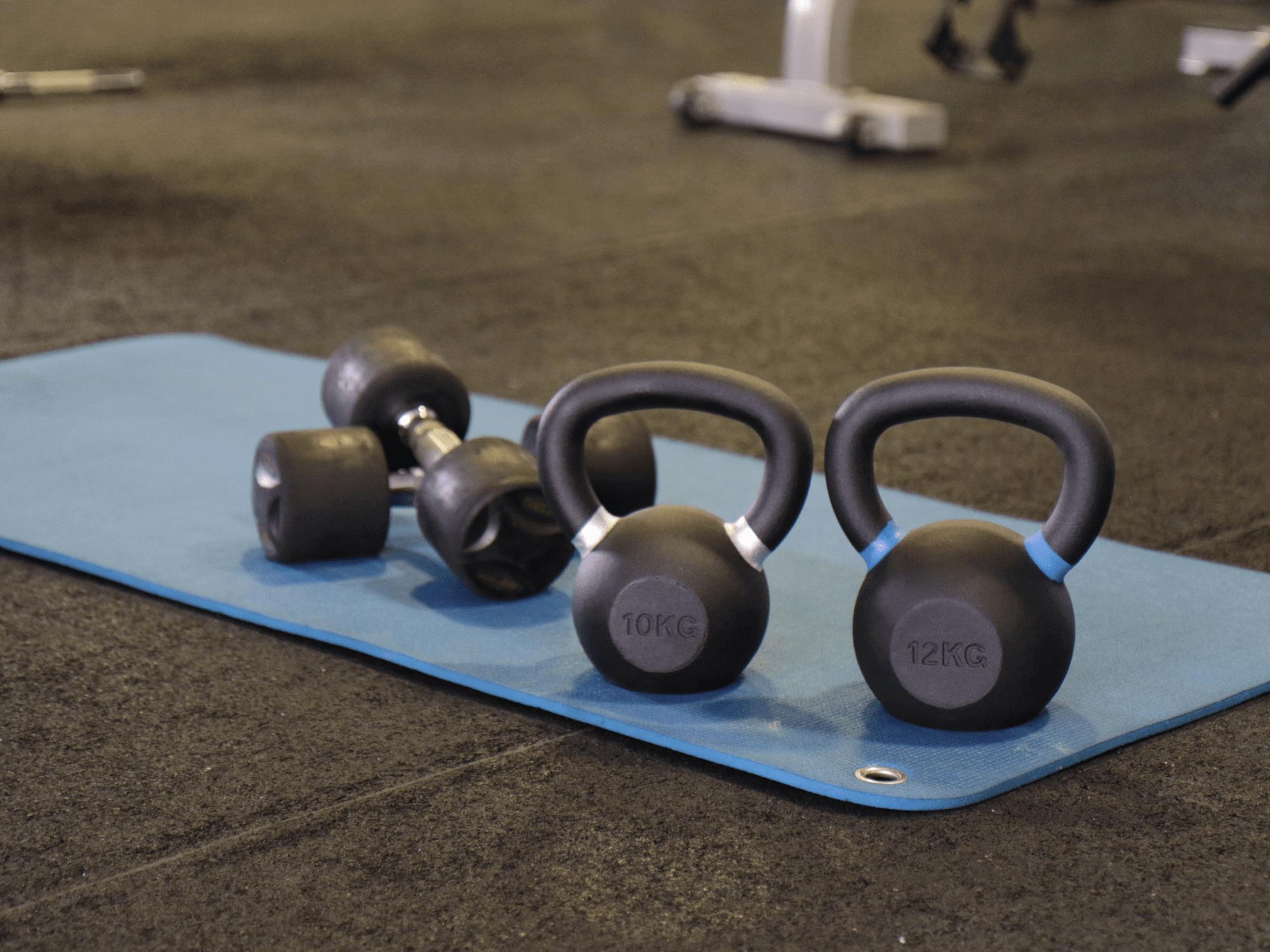 fitness la tour équipement poids